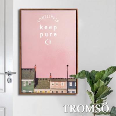 TROMSO北歐時代風尚有框畫-粉紅歐陸WA139