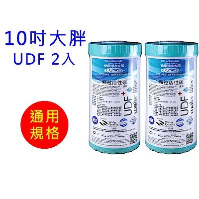 怡康 10吋大胖標準UDF椰殼活性碳濾心2支