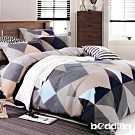BEDDING-活性印染3.5尺單人薄床包二件組-凡客