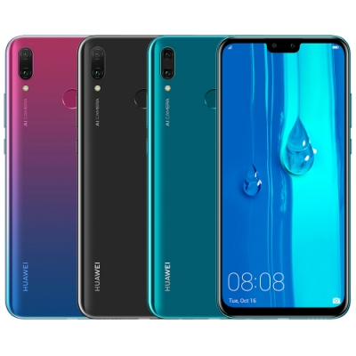 HUAWEI Y9 2019 (4G/64G) 6.5吋四鏡頭八核智慧型手機