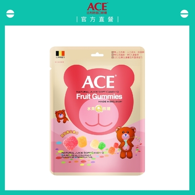 【ACE】水果Q軟糖量販包(240g/袋)