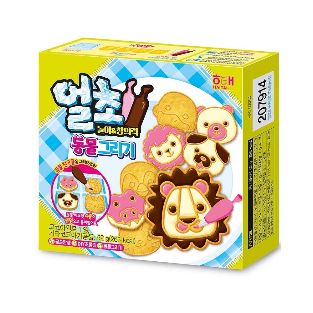 海太 DIY動物造型餅乾(52g)