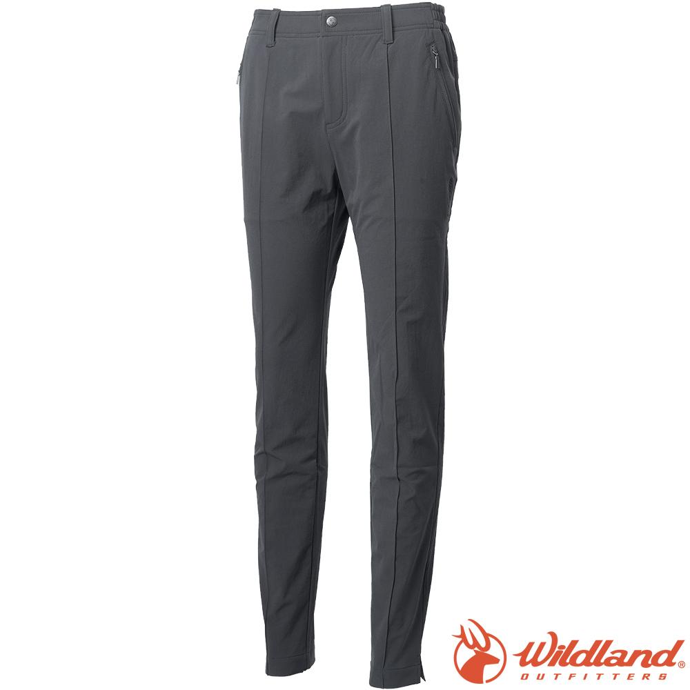 Wildland 荒野 0A62305-92中灰色 女彈性保暖休閒長褲