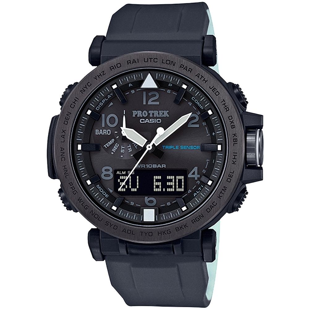 CASIO卡西歐 PRO TREK戶外活動登山錶(PRG-650Y-1D)/51.5mm