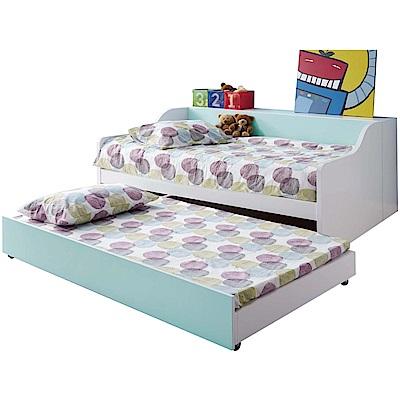 文創集 柯利森3.5尺單人子母床台組合(不含床墊)-142.5x195x90cm免組