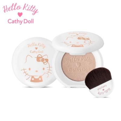 Cathy Doll x Hello Kitty聯名版彩妝 礦物光綻打亮餅~亮膚色/淡粉紅