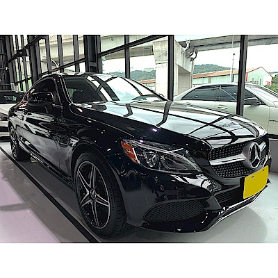 [訂金賣場]16/17 Mercedes-Benz C300 AMG Coupe(外匯車)