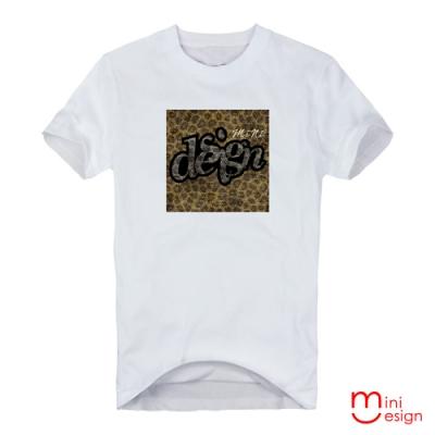 潮流design蛇紋設計短T 三色-Minidesign