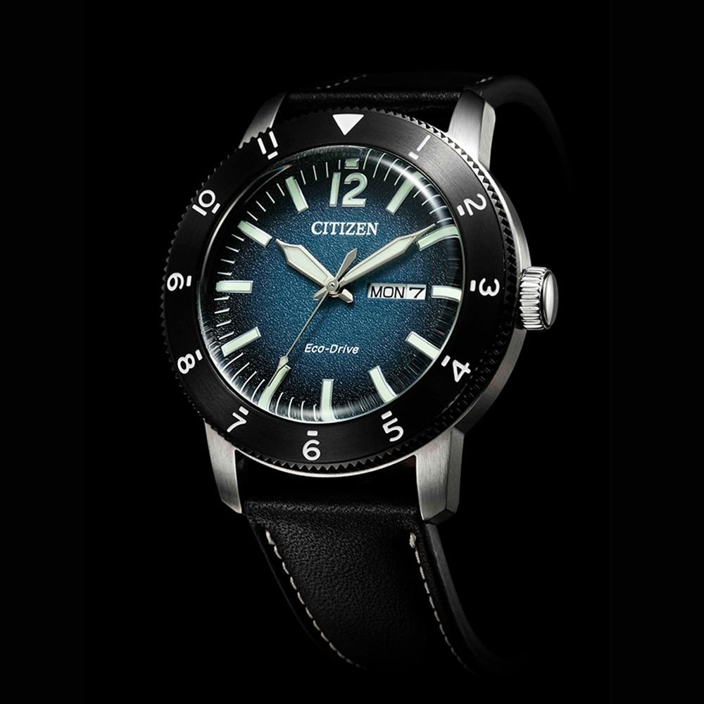 CITIZEN 星辰 光動能日曆手錶-43.5mm AW0077-19L