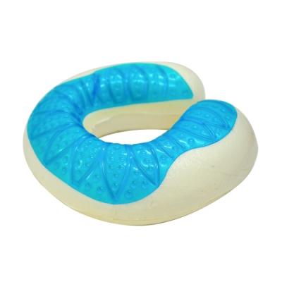 亞曼達Amanda 沁涼凝膠釋壓 U型護頸記憶枕/護頸枕
