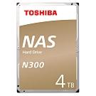 【TOSHIBA】N300 3.5吋 4TB 7200RPM/128MB NAS硬碟