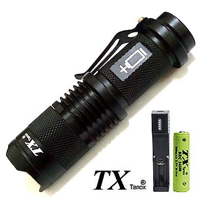 TX特林 Q5 LED伸縮變焦輕便迷你手電筒(T68-1A)