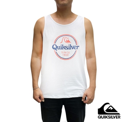 【QUIKSILVER】WORDS REMAIN TANK 背心 白