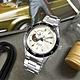SEIKO 精工PRESAGE 鏤空 機械錶 自動上鍊 不鏽鋼手錶-銀白色/41mm product thumbnail 1