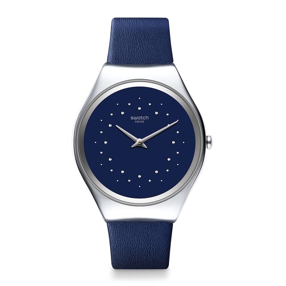 Swatch 超薄金屬手錶 SKIN SIDERAL-38mm