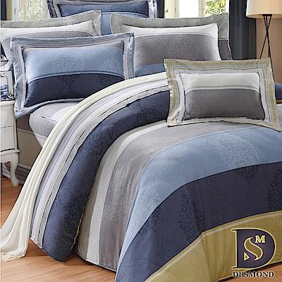 DESMOND 特大100%天絲全鋪棉床包兩用被四件組/加高款冬包 索思