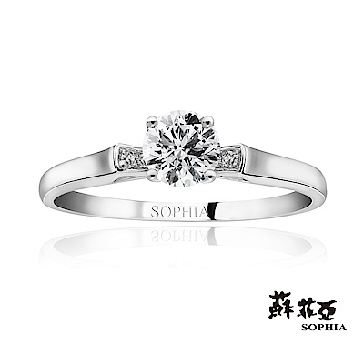 蘇菲亞SOPHIA - 愛情宣言0.37克拉FVVS1鑽石戒指