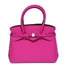 SAVE MY BAG 義大利品牌 MISS系列 桃紅色超輕量手提托特包