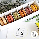 YUZU PATISSERIE 減糖馬卡龍特選組4盒(6入/盒)