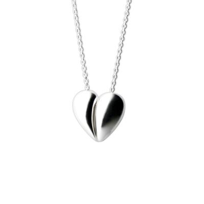 Georg Jensen #638 Heart純銀項鍊