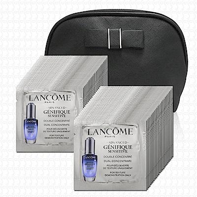LANCOME蘭蔻 超進化肌因活性安瓶1mlx48(贈化妝包)