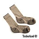 Timberland 男款米色透氣吸汗舒適中筒襪 01069