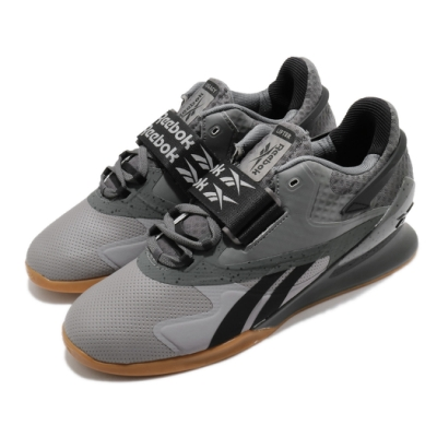 Reebok 訓練鞋 Legacy Lifter II 運動 男鞋 舉重 支撐 穩定 重量訓練 健身房 灰 黑 FY3537