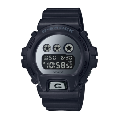 CASIO卡西歐 G-SHOCK 黑色基本款 DW-6900MMA-1_50mm
