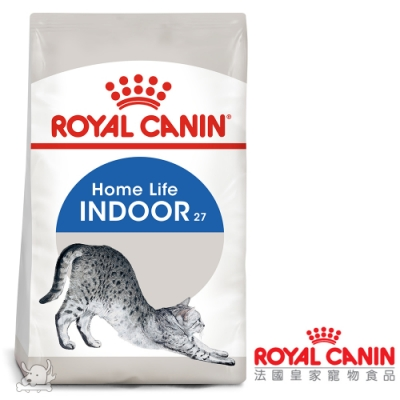 Royal Canin法國皇家 IN27室內成貓飼料 4kg 2包組