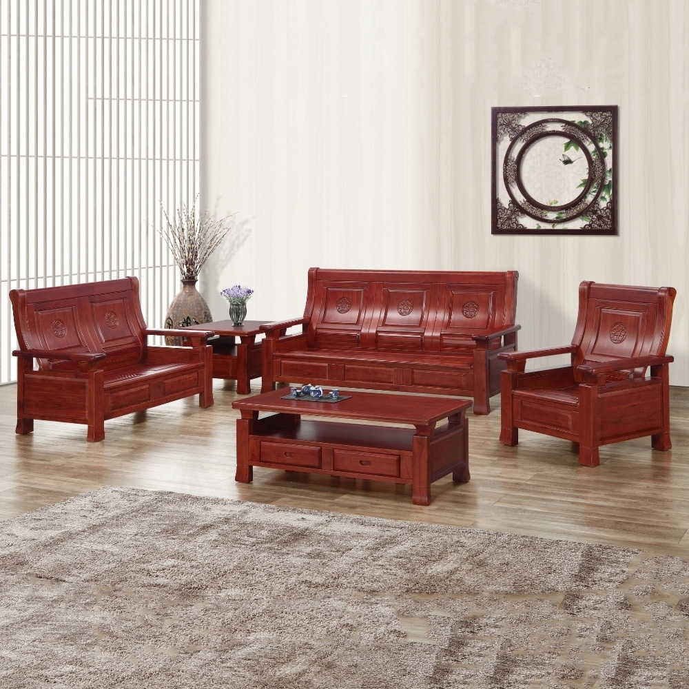 MUNA 067型實木掀蓋收納組椅(全組) 191X80X102cm