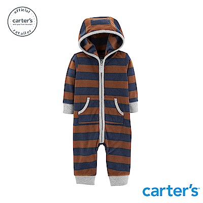 Carter's 撞色條紋連身裝