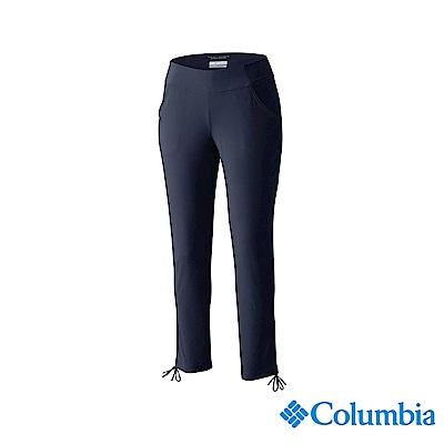Columbia 哥倫比亞 女款-UPF50 防潑七分褲-藍紫色 UAL15960