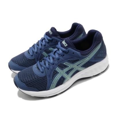 Asics 慢跑鞋 Jolt 2 D 寬楦 女鞋 亞瑟士 透氣 路跑 運動休閒 基本款 藍 白 1012A188404