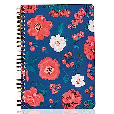 7321 Design 娜塔莉金色環裝筆記本-真愛花園