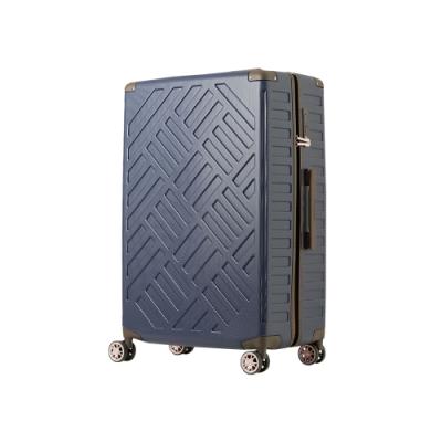 日本 LEGEND WALKER 5204-49-19吋 PP輕量行李箱 深河藍