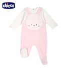 chicco-甜蜜小兔-造型連腳兩件式背心褲套裝