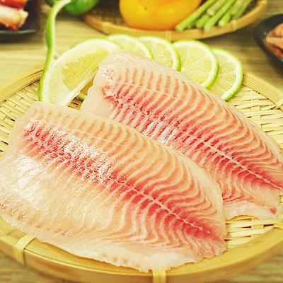 賣魚的家‧台灣鯛魚片(155g/片,共兩片)