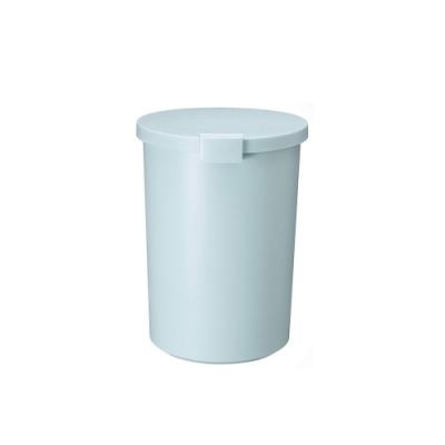日本岩谷Iwatani 圓形可分類密封防臭垃圾桶-12.4L