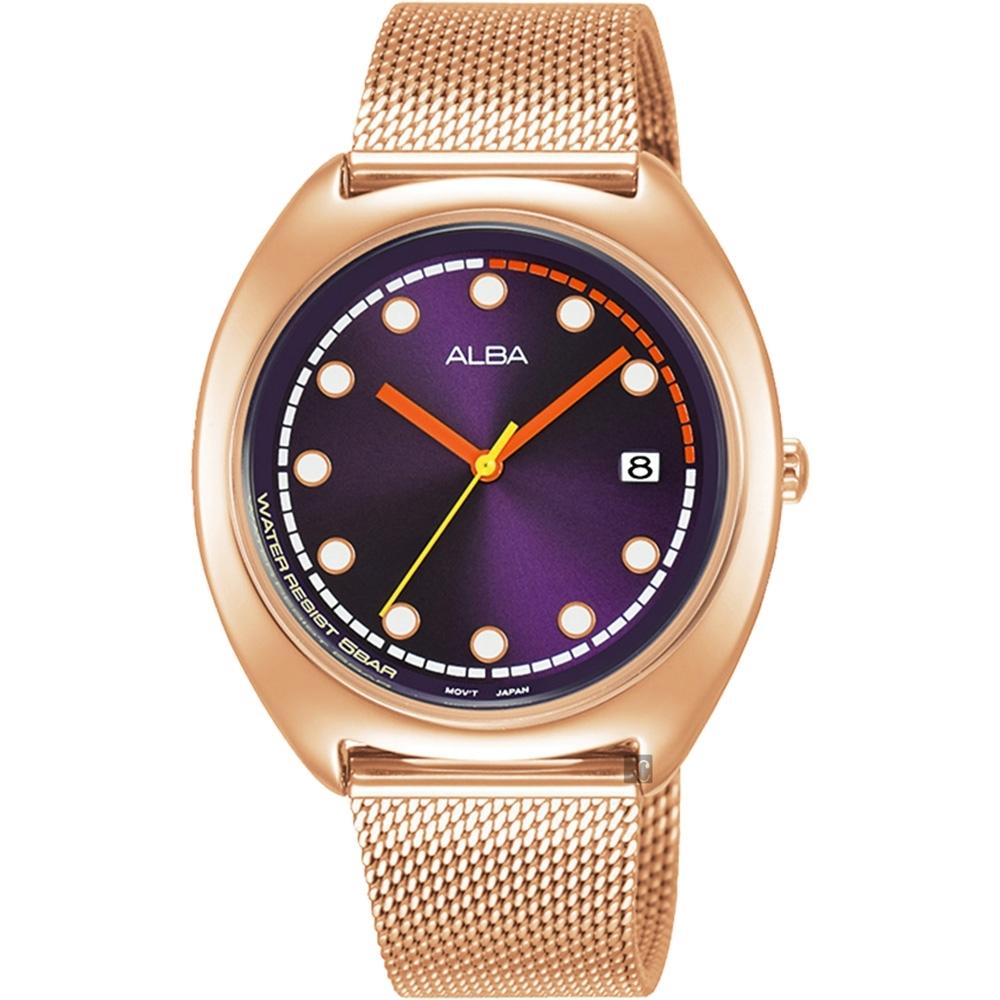 ALBA 雅柏 東京米蘭帶女錶(AG8K42X1/VJ32-X304K)-36mm