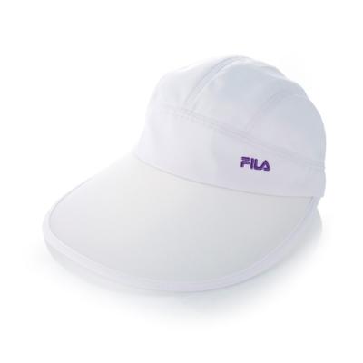 FILA 時尚遮陽帽-白 HTT-5004-WT
