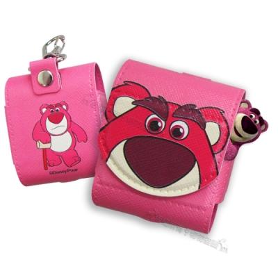 迪士尼授權 Airpods 皮革質感 藍牙耳機盒保護套 1/2代通用款(熊抱哥)