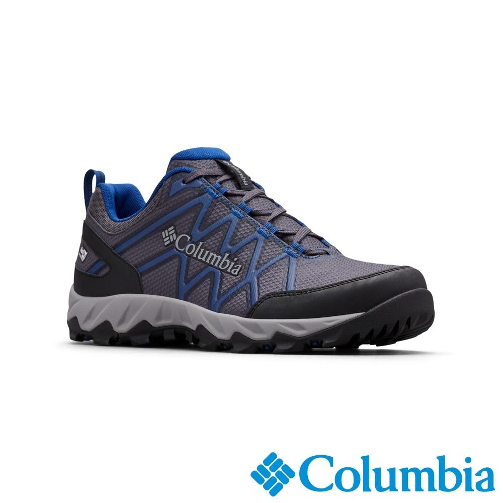 Columbia 哥倫比亞 男款-Outdry防水健走鞋-深灰色