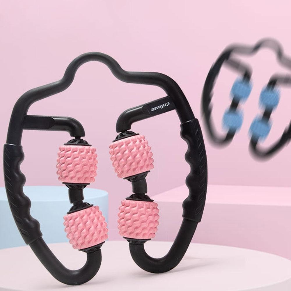 泡沫軸360度滾輪瘦腿按摩器(時時樂限定)