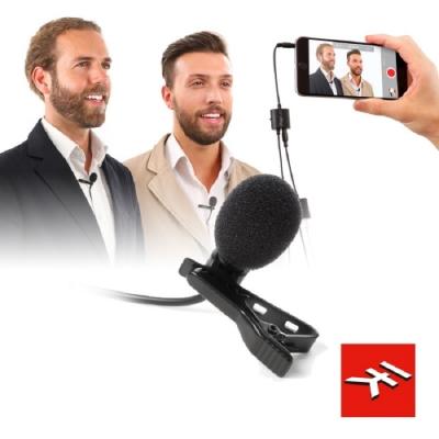 IK Multimedia  iRig Mic Lav領夾式麥克風 (兩入)