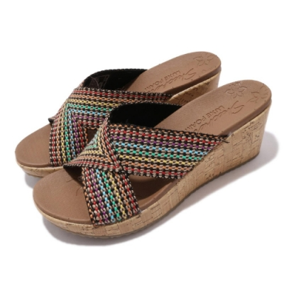 Skechers 涼拖鞋 Beverlee-Delighted 女鞋