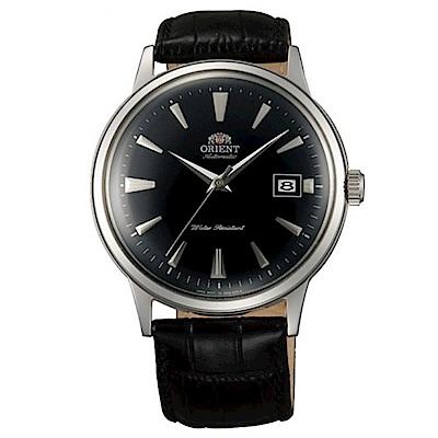 ORIENT東方錶 DATEII圓滿時手動機械錶(FAC00004B0)-黑x40.5mm
