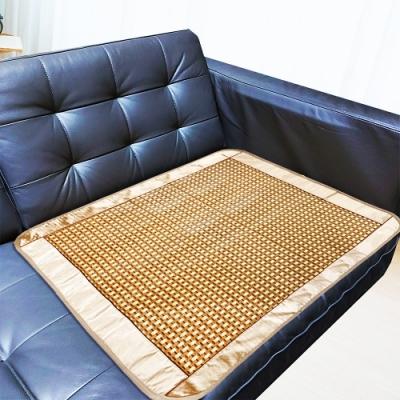 米夢家居 沙發貴妃椅夏日降溫專用 清涼散熱加大紙纖涼蓆坐墊(1人座70*70cm)-金吉(一入)