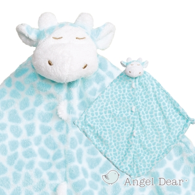 Angel Dear 動物嬰兒安撫巾 (青綠色長頸鹿)