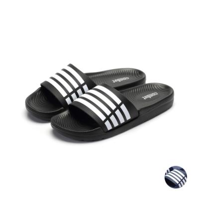 COMBAT艾樂跑男女鞋-輕量防水拖鞋-黑/藍(61506)