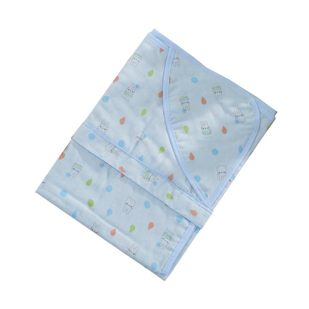 嬰兒純棉紗布多功能包巾 b0161 魔法Baby